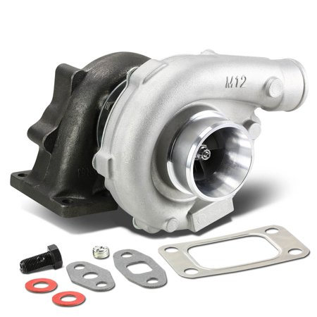 Bolt On Turbocharger - T04E T3/T4 4-Bolt Manifold Flange Stage III Universal Turbocharger Turbine A/R .63