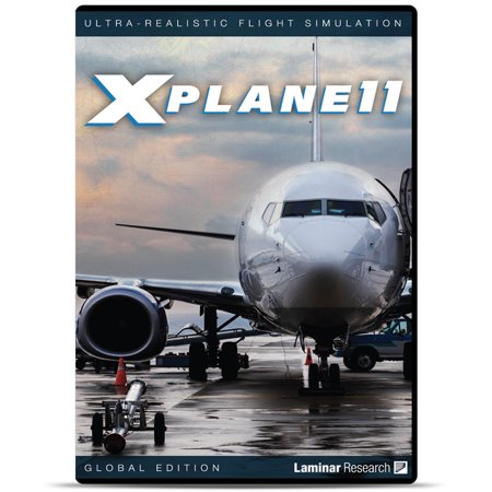 X-Plane 11 Global Flight Simulator DVD