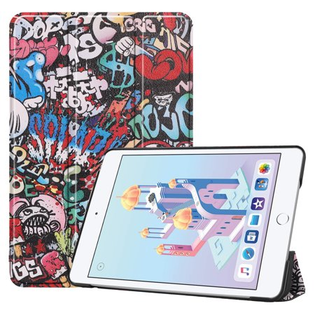 iPad Mini 5 2019 Case, Allytech Slim Light Smart Kids Proof Cover Stand Hard Shell Case with Auto Sleeo/ Wake Feature for New 7.9 inch Apple iPad Mini 5th Generation 2019 Model,