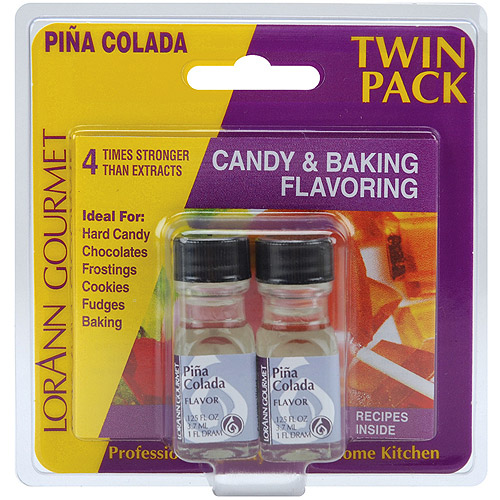 Candy and Baking Flavoring, 0.125oz Bottle, 2/Pkg