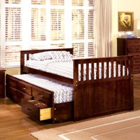 Furniture of America  Lays Cherry 2-piece Bed with Trundle Set