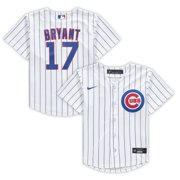 Kris Bryant Chicago Cubs Nike Preschool Home 2020 Replica Player Jersey - White