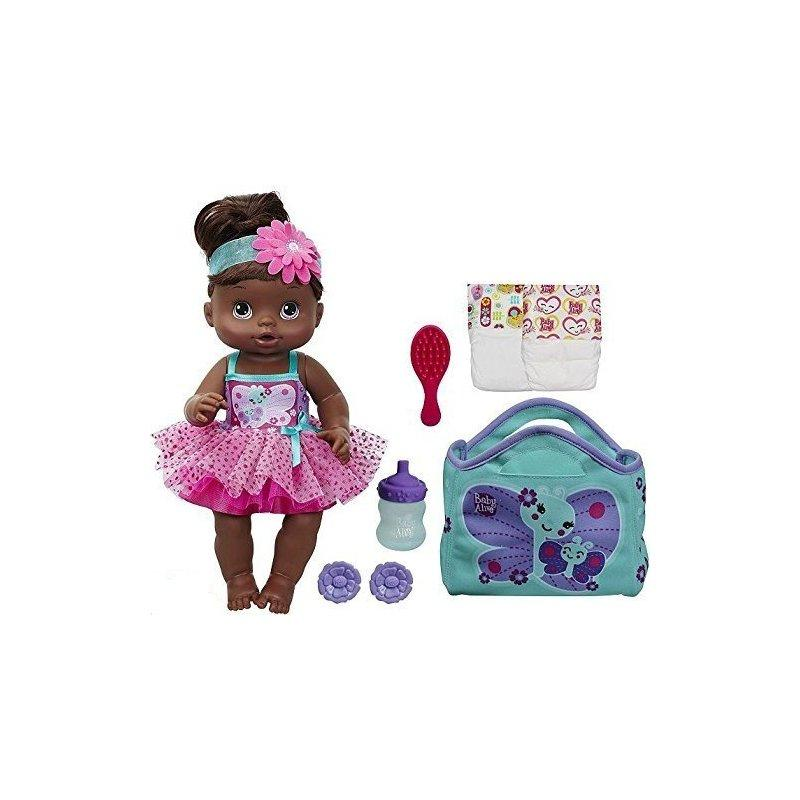 Hasbro Baby Alive Twinkle Fairy Baby Doll African American by