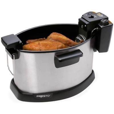 - Presto ProFry Electric Rotisserie Turkey Fryer