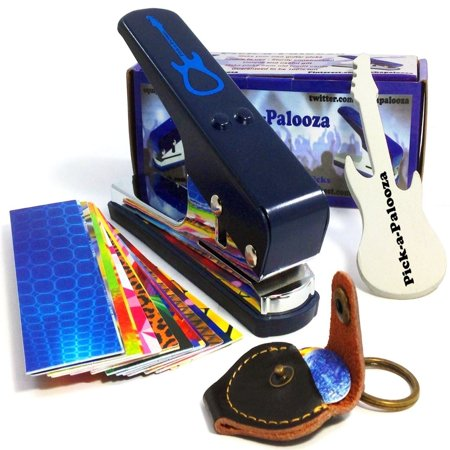 Pick-a-Palooza DIY Guitar Pick Punch Mega Gift Pack - the Premium Pick Maker - Mega Punch