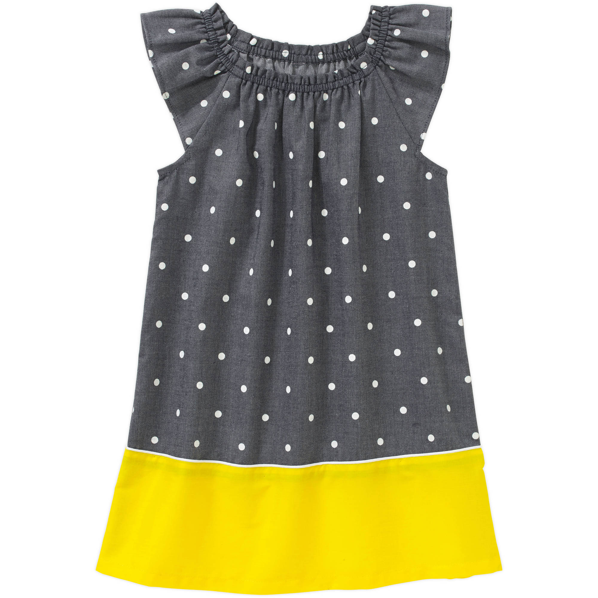 Healthtex Baby Toddler Girl Essential Spring Smocked Top Woven Dress