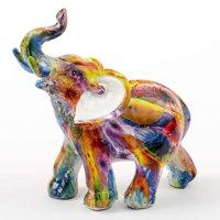 """Elephant Tie-Dye Mini 5"""" Elephant Figurine"""