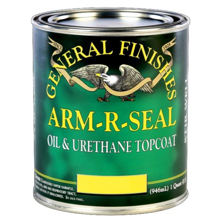 General Finishes  Arm-R-Seal Oil Based Semi-Gloss Gallon