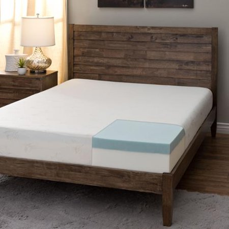 Comfort dreams 8 inch twin size memory foam mattress for Are memory foam mattresses comfortable