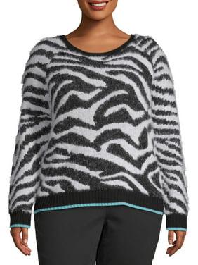No Boundaries Juniors' Plus Size Jacquard Sweater