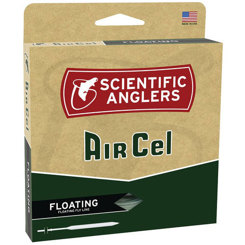 Scientific Anglers Air Cel Floating Fly Line, WF, F, Yellow