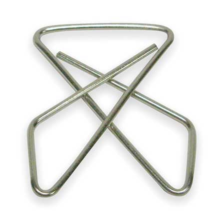 Butterfly Clamp,1 1/2 In,Smll,PK30 ZORO SELECT 2WFV1