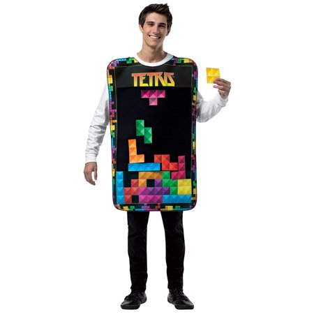 Tetria Interactive Game Adult Costume Tunic