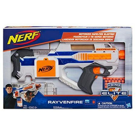 Nerf Guns Elite (Nerf N-Strike Elite Rayvenfire Motorized Rapid Fire)