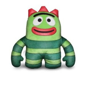 "Yo Gabba Gabba Brobee 12"" Designer Plush Doll"
