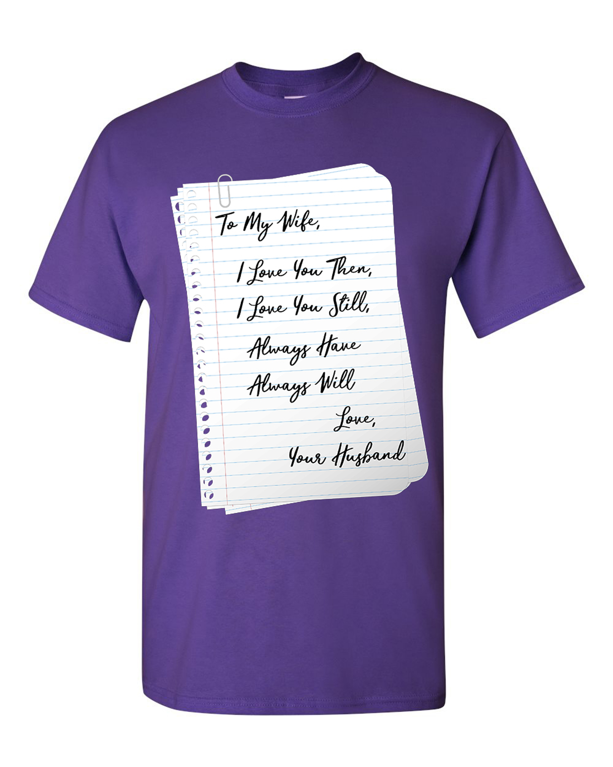 Novelty Themed Mens T-Shirt MY WIFE HAS AN AWESOME HUSBAND Relationship