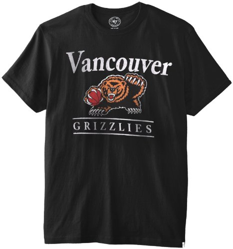 NBA Memphis Grizzlies Flanker Tee, Medium, Jet Black