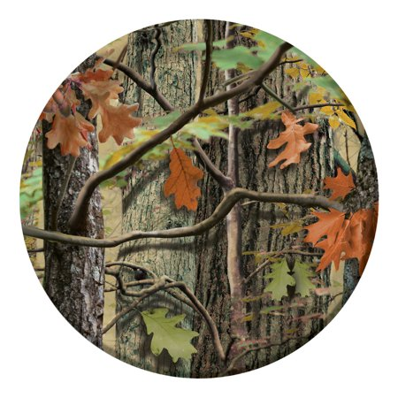Club Pack of 96 Hunting Camo Disposable Paper Party Banquet Dinner Plates 9