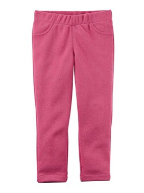 Carter's Baby Girls' Pull-On Sparkle Skinny, Pink
