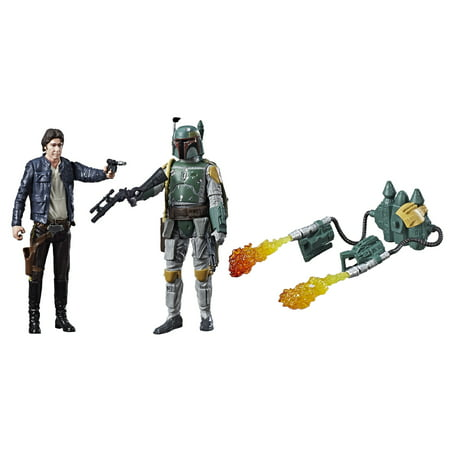 STAR WARS E4 HAN SOLO AND E5 BOBA FETT