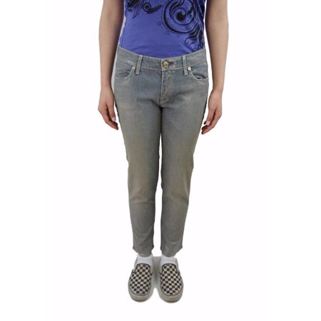 New Rich & Skinny Womens Skinny Jeans Pants, W 27, Metallic Print Made in USA ()