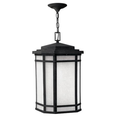 brand new 750a5 eccbc Hinkley Lighting H1272 1-Light Outdoor Lantern Pendant from the Cherry  Creek Collection