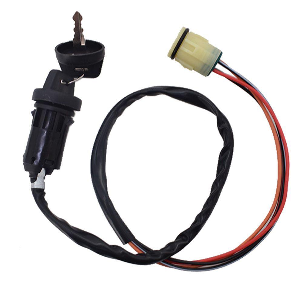 Semoic Ignition Key Switch 35100-HN5-670 for ATV TRX350 TRX400 TRX420 TRX450 TRX500