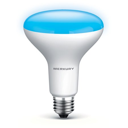 Merkury Innovations Spectrum Spot Tunable White BR30 Light Bulb, 65W Equivalent, No Hub Required