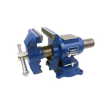 Durable Rotating Bench Vise 750-E Multi-Jaw Vise for the Home (Craftsman 4 In Drill Press Vise General Purpose)