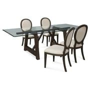 Bassett Mirror 5 Piece Ellsworth Dining Set with Cornelia Chairs