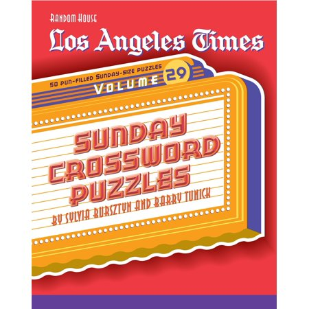 Los Angeles Times Sunday Crossword Puzzles, Volume - Party City Times On Sunday