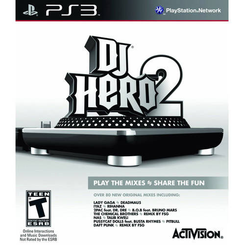Dj Hero 2 Game Only (PS3) - Pre-Owned
