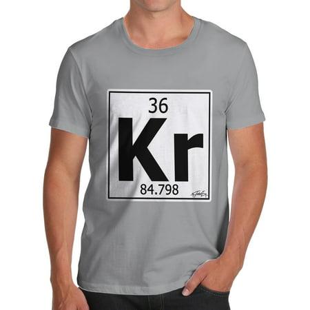 Mens t shirt periodic table element kr krypton funny shirts for men mens t shirt periodic table element kr krypton funny shirts for men walmart urtaz Choice Image