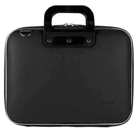 Cady Universal Tablet, eReader, Netbook, Laptop Hard Faux Leather Carrying / Shoulder Suit Case fits 15, 15.6 (Business Leather Computer Cases)