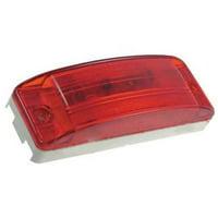 GROTE 46832 Lamp,Turtleback,Lens Optic,Red