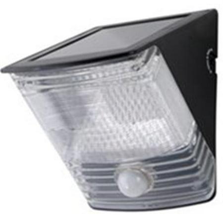 Cooper Lighting Msled100 Floodlight Solar 2led Motn Blk