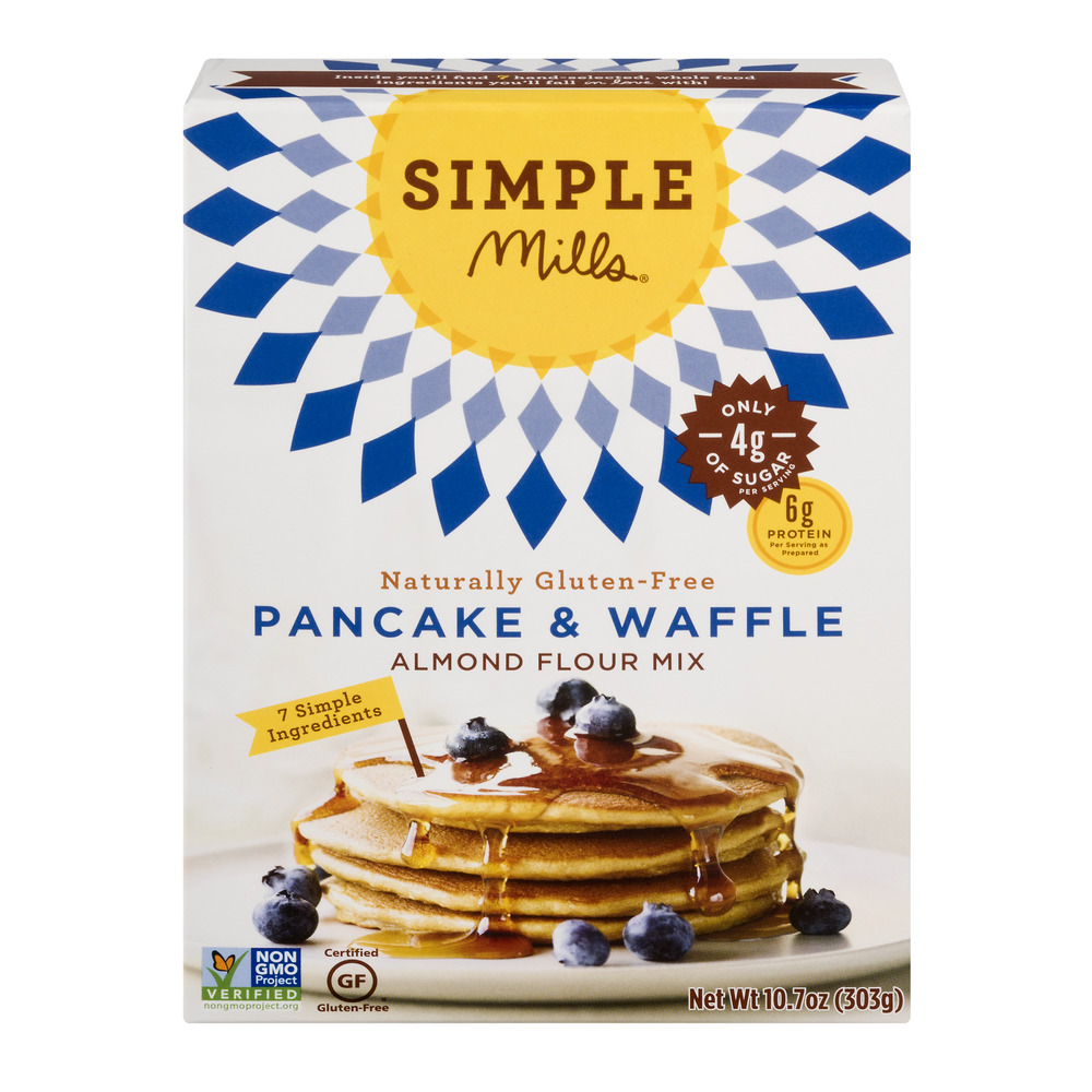 Simple Mills Almond Flour Mix Pancake & Waffle, 10.7 OZ