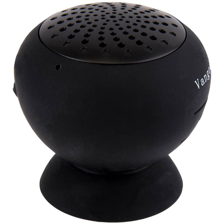 Vangoddy Universal Bluetooth Suction Speaker with Hands-Free Function Compatible with all Apple iPhone/Android/Smartphone/Tablet Bluetooth-Enabled Devices