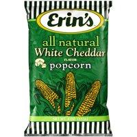 Erins All Natural White Cheddar Flavored Popcorn 4 Oz.