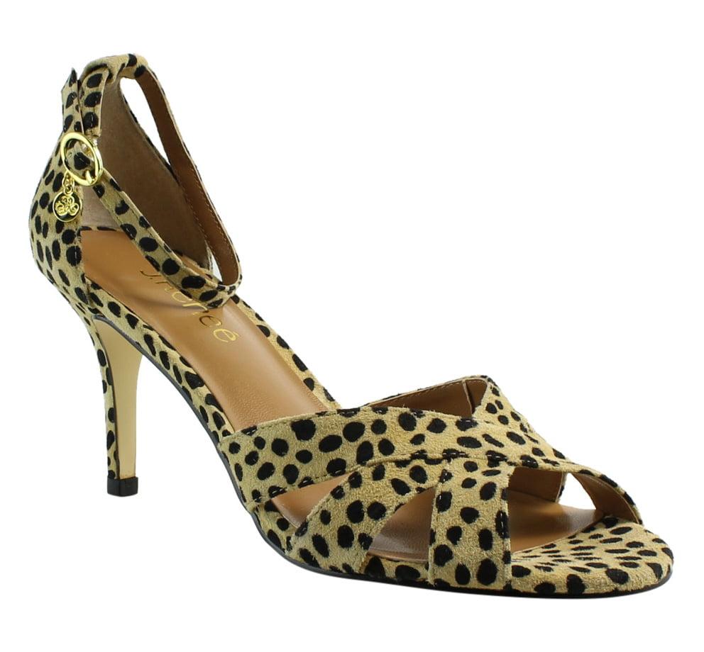 J. Renee Womens Brown Ankle Strap Heels Size 7 New by J. Renee