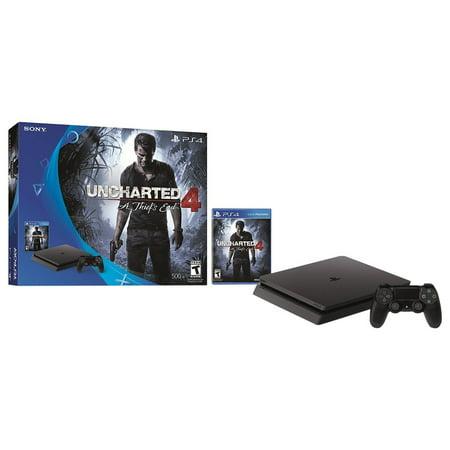 PlayStation 4 Slim 500GB Uncharted Bundle