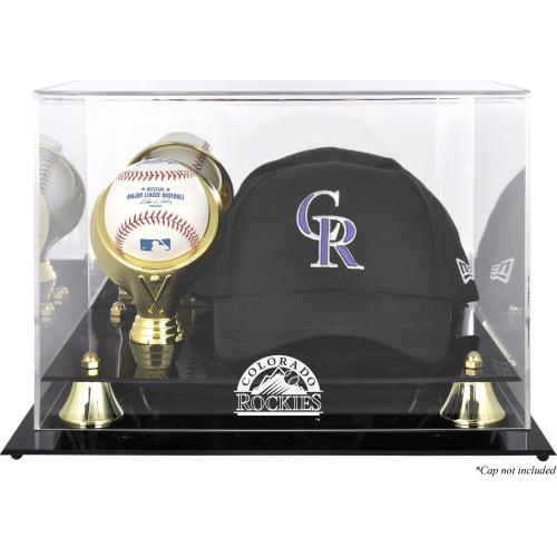 Colorado Rockies Fanatics Authentic Acrylic Cap and Baseball Logo Display Case - No Size