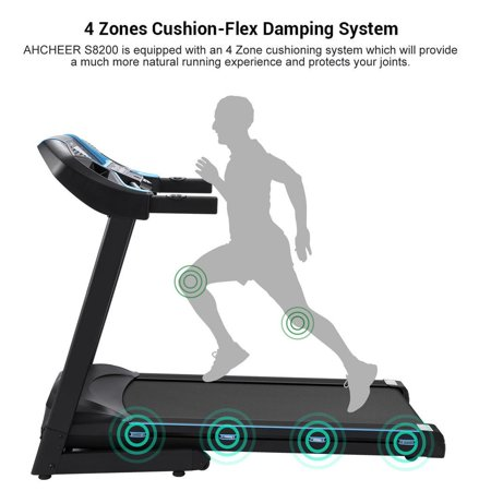 Fitness Folding Electric Treadmill Exercise Equipment Walking Running Machine Gym Home Octap