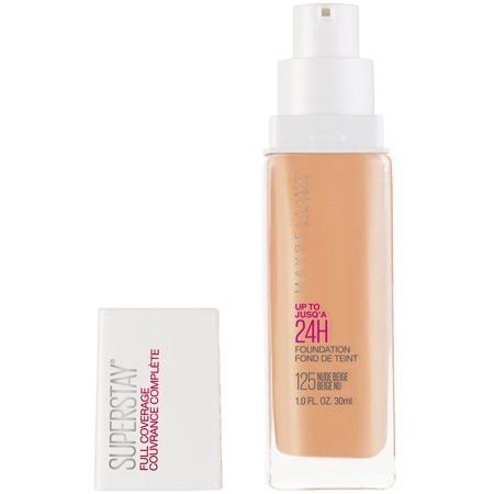 Maybelline Super Stay Full Coverage Liquid Foundation Makeup, Nude