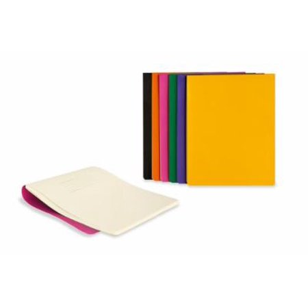 Moleskine Volant Reporter Refill Notebook for iPad, Plain, (Set of 2), Brilliant Violet (7 x 9) (Wipe Refill Case)