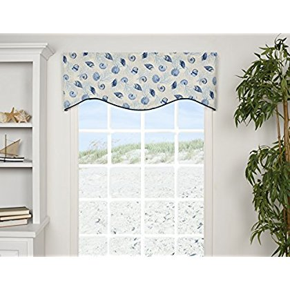 VICTOR MILL Barbados Shaped Valance (Victor Mall)
