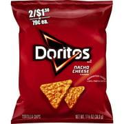 Doritos Nacho Cheese Tortilla Chips, 1.375 oz Bag