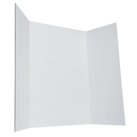 "Elmer's Tri-fold Foam Display Board, White, 28"" x 40"""