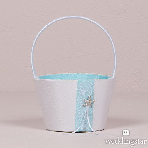 Weddingstar 8499 Seaside Allure Flower Girl Basket