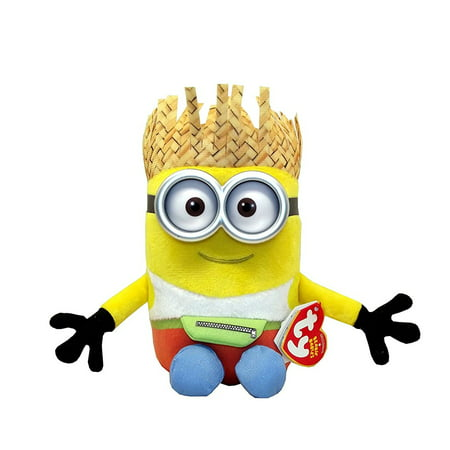 Ty Despicable Me3 Dave the Minion Plush, 7 X 3.5 inches](Minion Dave)